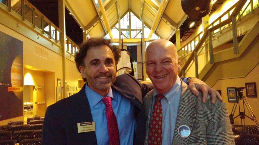 Tom with Representative Mel Myler